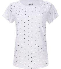 camiseta mujer print puntos