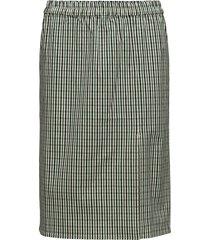 farina slit skirt knälång kjol grön designers, remix
