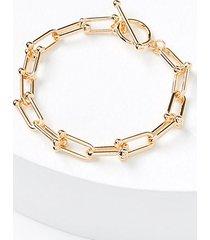 loft chain link bracelet