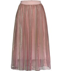 milton skirt knälång kjol rosa lollys laundry
