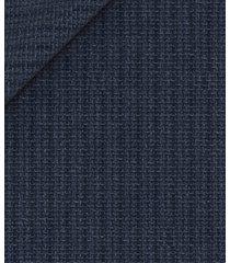 giacca da uomo su misura, reda, blu a righe lana lino, primavera estate | lanieri