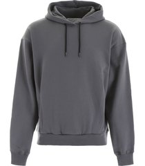 martine rose hoodie with logo embroidery