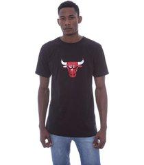 camiseta nba estampada vinil chicago bulls preta - kanui