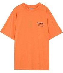 t-shirt korte mouw sixth june t-shirt barcode
