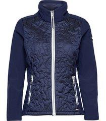 classic quilt light jacket kviltad jacka blå sebago