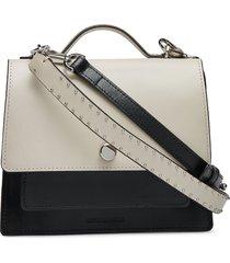 new conductor colourblock evening bag bags top handle bags crème royal republiq