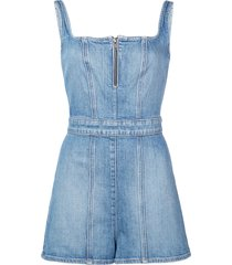 alice+olivia gorgeous playsuit - blue