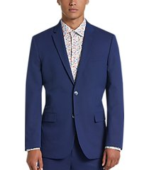 ben sherman blue extreme slim fit suit
