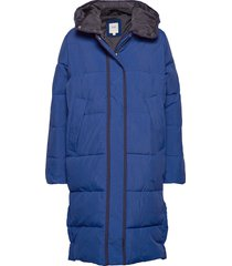 long puffer fodrad rock blå lee jeans