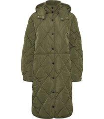 berry puffer coat