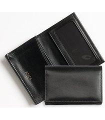 bosca old leather gusset wallet in black at nordstrom