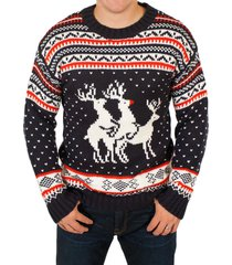 christmas jumper crew neck funy naughty orgy list sweater