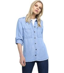 camisa denim lenka celeste five