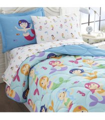 wildkin's mermaids pillow case bedding