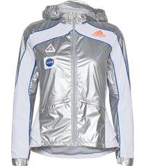 marathon space race jacket w outerwear sport jackets silver adidas performance