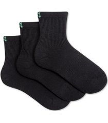 hue women's 3-pk. eco sport mini crew socks