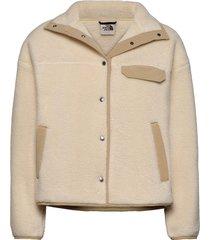 w cragmont flc jkt sweat-shirts & hoodies fleeces & midlayers beige the north face