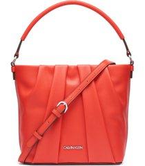 calvin klein myla bucket bag
