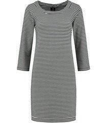 gestreepte dames jurk nikkie - kay dress - n5-299 1904 7812