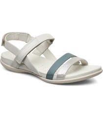 flash shoes summer shoes flat sandals silver ecco