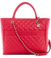 guess illy quilted elite tote