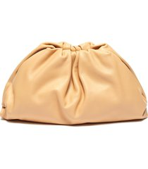 'the pouch' leather clutch