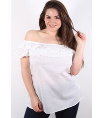 blusa blanca spiga 31