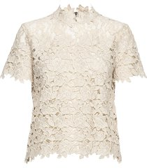 ruth blouses short-sleeved creme fall winter spring summer