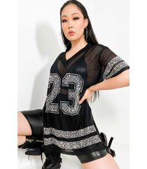 akira kikiriki game day short sleeve mini dress