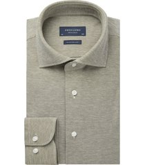 profuomo overhemd groen knitted