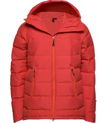 stranda down hybrid jkt outerwear sport jackets röd bergans