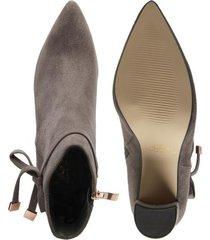 botines para mujer marca paris hilton color gris paris hilton - gris