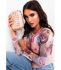 akira keep calm and ball out studded purse