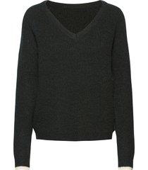 aliza jumper stickad tröja svart lollys laundry