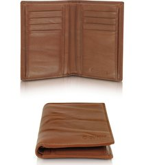 gherardini designer men's bags, pleated leather men's vertical wallet