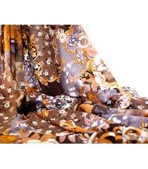 pashmina marrón  almacén de paris