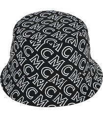 mcm logo fisherman hat