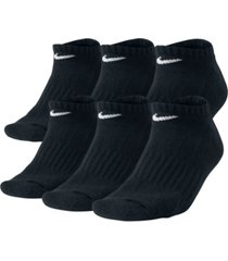 nike men's cotton no-show socks 6-pack