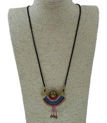 collar precolombino multicolor