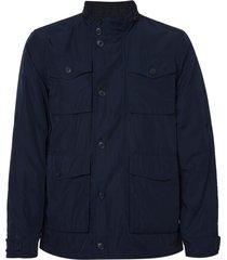 jaqueta dudalina bolsos frontais masculina (azul marinho, xgg)