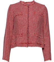 blazer short kissing jacket 1/ blazer colbert rood betty barclay