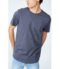 men's organic longline t-shirt
