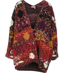 see by chloe oversize cardigan