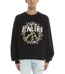 amiri peace butterfly sweatshirt