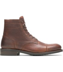 wolverine men's blvd cap toe pebble brown, size 8