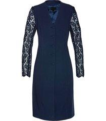blazer lungo con pizzo (blu) - bpc selection premium