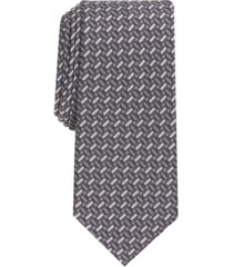 alfani men's dan slim geo tie, created for macy's