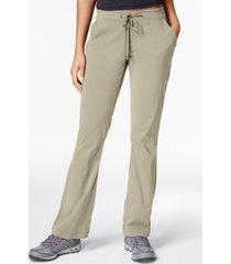 columbia women's anytime omni-shield bootcut hiking pants