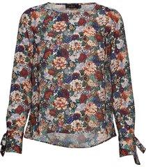 kari liberty blouse blouse lange mouwen multi/patroon morris lady