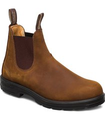 bl classic comfort stövletter chelsea boot brun blundst
